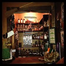 the witch bar offers custom carved candles oils potions custom