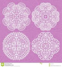 set of lace ornaments royalty free stock photo image 34210515