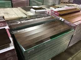 Handscraped Laminate Pallet Of Toucan Tf3106e Handscraped Walnut Laminate Flooring