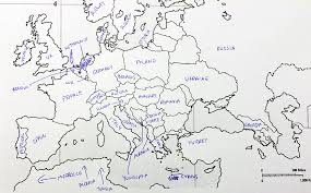 blank europe map with country names blank asia map countries map of asia with capitals and countries