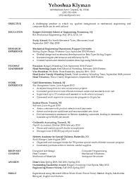 Structural Design Engineer Resume Mechanical Engineering Student Resume Http Jobresumesample Com