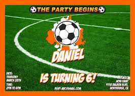 11 best soccer birthday invitations images on pinterest birthday