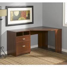 Bush Furniture Wheaton Reversible Corner Desk Bush Wheaton Reversible Corner Desk In Hansen Cherry My72813 03