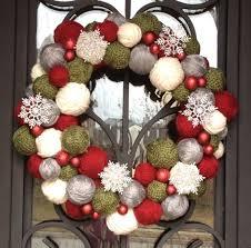 25 unique yarn wreaths ideas on diy yarn