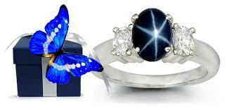 rings star sapphire images Yellow white gold blue star sapphire rings jpg