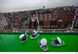 Selfridges Duvet Willy Wonka No Selfridges Opens Green Rooftop Boating Lake Aol