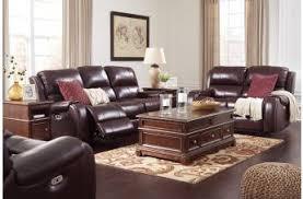 Burgundy Living Room Set Furniture Gilmanton Living Room Collection