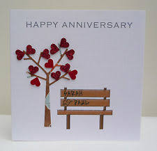 husband anniversary card ebay