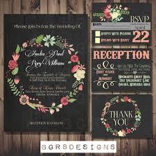 chalkboard wedding invitations designs chalkboard wedding invitation free template with