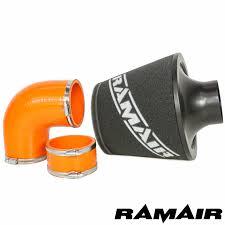 ford focus st ecu ramair air filter intake kit ecu bracket orange hoses ford