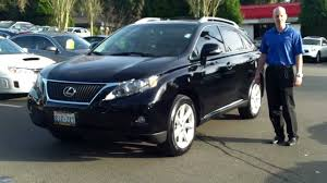 lexus sport utility 2010 2010 black lexus rx350 review start up exhaust smooth and
