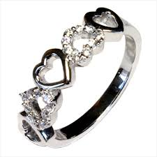 cheap heart rings images 5 hearts promise ring beautiful promise rings cheap beautiful png