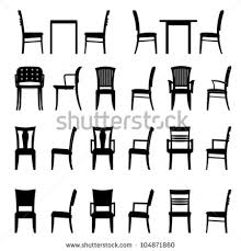 Black And White Armchairs Chair Silhouette Stock Images Royalty Free Images U0026 Vectors