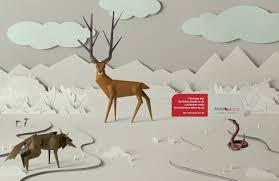 alzas y bajas print advert by jwt deer ads of the world