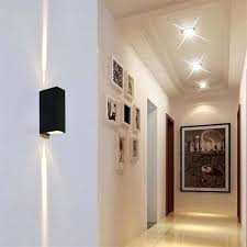 outdoor double wall light outdoor double wall light outdoor led wall ls square waterproof