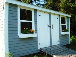 Pretty Shed by Heart Maine Home A Prettier Shed Before And After