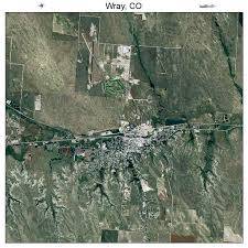 wray colorado map aerial photography map of wray co colorado