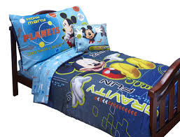 Baby Minnie Mouse Crib Bedding Set 5 Pieces by Disney Baby Bedding Mickey Mouse Space Adventures 4 Piece Toddler