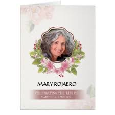 Paper For Funeral Programs Funeral Program Gifts On Zazzle