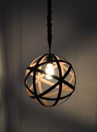 Orb Pendant Light Metal Orb Pendant Light With Rustic Chandelier Industrial Lighting