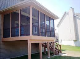 pleasing ideas for screened in porch crafts home