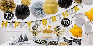 70th birthday party ideas sparkling celebration 70th birthday party supplies party city
