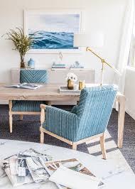 emerald studio design project a classic blue office makeover