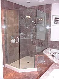 Neo Shower Door Mangham Glass 1 2 Inch Neo Angle Frameless Shower Enclosure