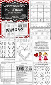 valentine u0027s day math print and go printable maths worksheets
