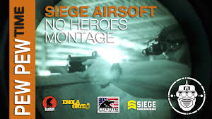 robo airsoft pew pew time siege airsoft no heroes nvg