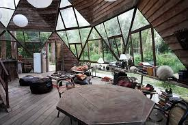 dome home interiors moon to moon the beautiful wooden dome house in a forest