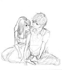 couple sketch by appleturtle on deviantart