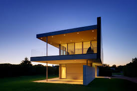 modern glass house design from david jameson architect facade