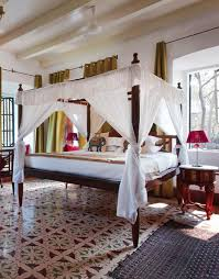 colonial style beds british colonial decor india all images from elle decor india