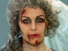 zombie cinderella tutorial kid s halloween makeup tutorial fairy princess hgtv