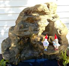 vertical rock waterfalls backyard garden u0026 pool waterfalls