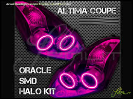 nissan altima custom parts oracle 10 13 nissan altima 2dr led colorshift halo rings