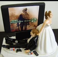 gamer cake topper gamer wedding cake topper