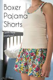 free pattern pajama pants sew pajama shorts easy project with free pattern pajama shorts