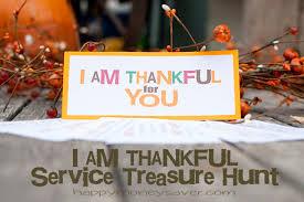 i am thankful service treasure hunt free printables