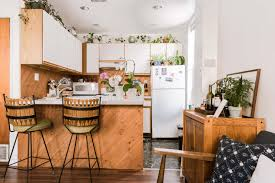 plants for on top of kitchen cabinets found jungalow boho minimalist apartment where plants are