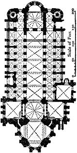 Gothic Architecture Floor Plan Plan Of Cathedral At Mainz Ad 976 Clipart Etc