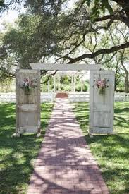 wedding arches adelaide whimsical outdoor wedding ceremony door backdrop brides of