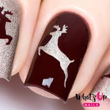 whats up nails deer stickers u0026 stencils u2013 daily charme