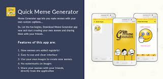 quick meme generator apps on google play
