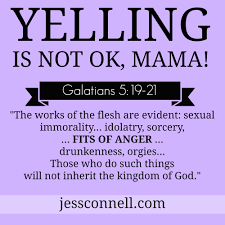 quotes from the bible about killing non believers stress yelling and sin jess connell