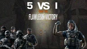 5 vs 1 epic montage rainbow six siege youtube