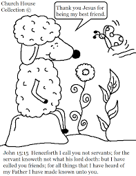 john 15 15 sheep coloring