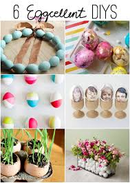 spring diys 6 eggcellent diys easter spring ideas the inspired room