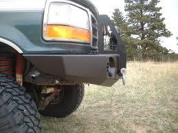 prerunner bronco bumper extreme duty winch bumper 92 96